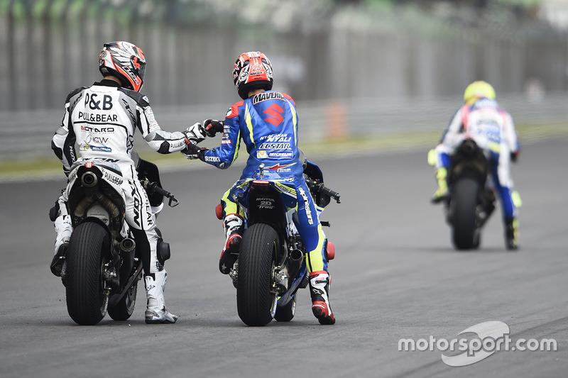 Maverick Viñales, Team Suzuki Ecstar MotoGP, Yonny Hernandez, Aspar Racing Team