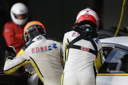 #98 Rowe Racing BMW M6: Stef Dusseldorp, Nick Catsburg, driver change