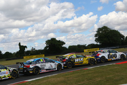 Tom Ingram, Speedworks Motorsport; Adam Morgan, WIX Racing; Mat Jackson, Motorbase Performance