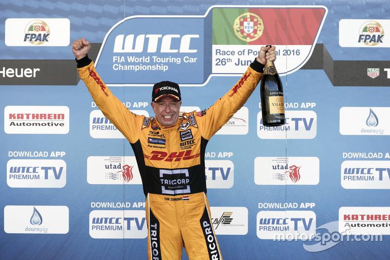 Podyum: Tom Coronel, Roal Motorsport, Chevrolet RML Cruze TC1