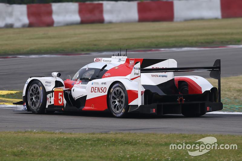 6. LMP1: #5 Toyota Racing, Toyota TS050 Hybrid