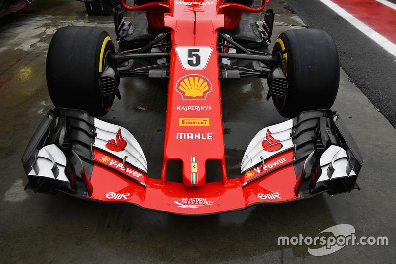 Ferrari SF70H burun ve ön kanat