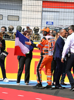 Tricolour on the grid