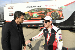 #911 Porsche Team North America Porsche 911 RSR, GTLM:  Nick Tandy and actor Patrick Dempsey