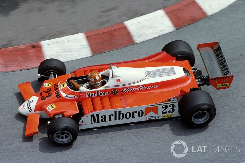 1980: Bruno Giacomelli, Alfa Romeo 179