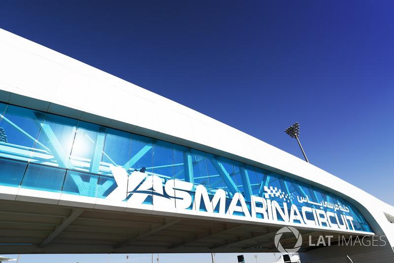 El circuito Yas Marina