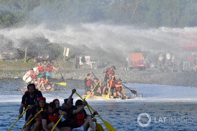 The raft race