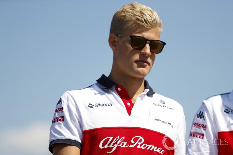 Marcus Ericsson, piloto da Sauber-Alfa Romeo
