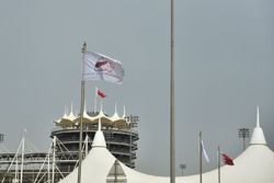 Sakhir Tower and flag