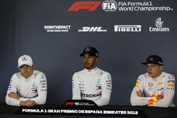 Победитель Льюис Хэмилтон, второе место – Валттери Боттас, Mercedes AMG F1, третье место – Макс Ферстаппен, Red Bull Racing