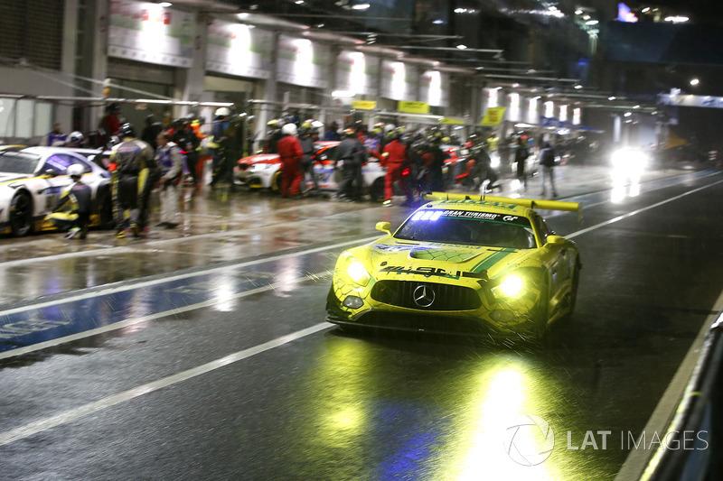 17. #48 Mercedes-AMG Team Mann Filter Mercedes-AMG GT3: Christian Hohenadel, Indy Dontje, Maximilian Götz, Renger van der Zande