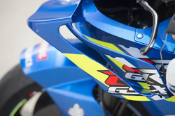 Team Suzuki MotoGP wings detail