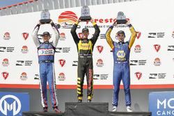 Podium: 1. Sébastien Bourdais, Dale Coyne Racing with Vasser-Sullivan Honda; 2. Graham Rahal, Rahal Letterman Lanigan Racing Honda; 3. Alexander Rossi, Andretti Autosport Honda