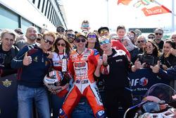 Il vincitore di Gara 1 Michele Pirro, Barni Racing