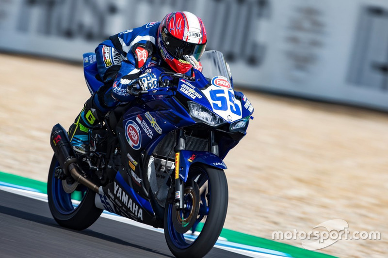 WorldSSP300: Galang Hendra, Team MotoX Racing