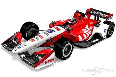 Rahal Letterman Lanigan Racing renk düzeni