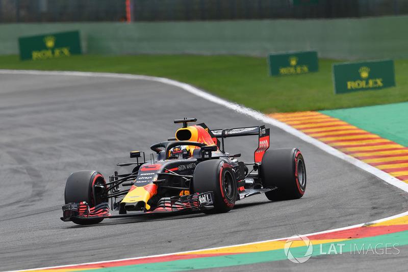6 місце — Даніель Ріккардо, Red Bull — 186