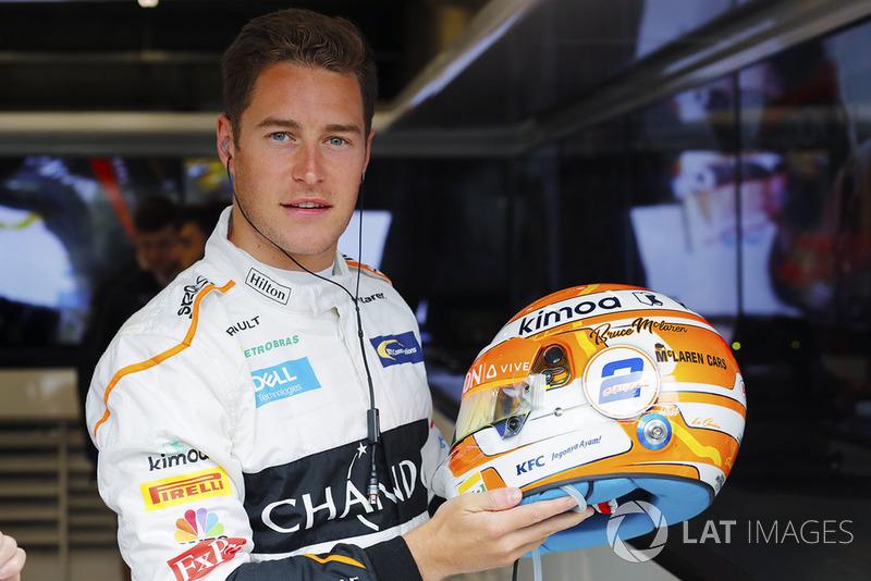 Stoffel Vandoorne, McLaren y su neuvo casco