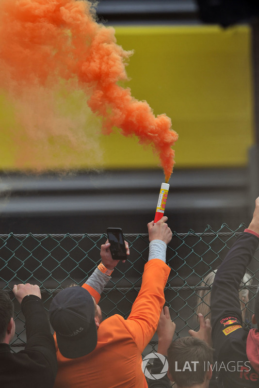 A Belga Nagydíj rajongói - F1 2018