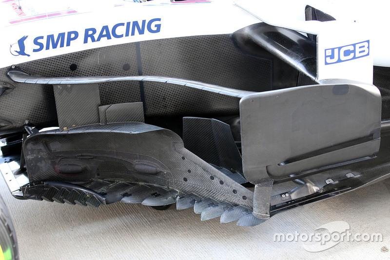 Bargeboard del Williams FW41