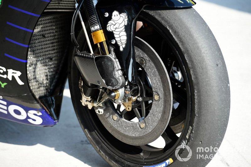 Yamaha YZR-M1: Vorderradbremse
