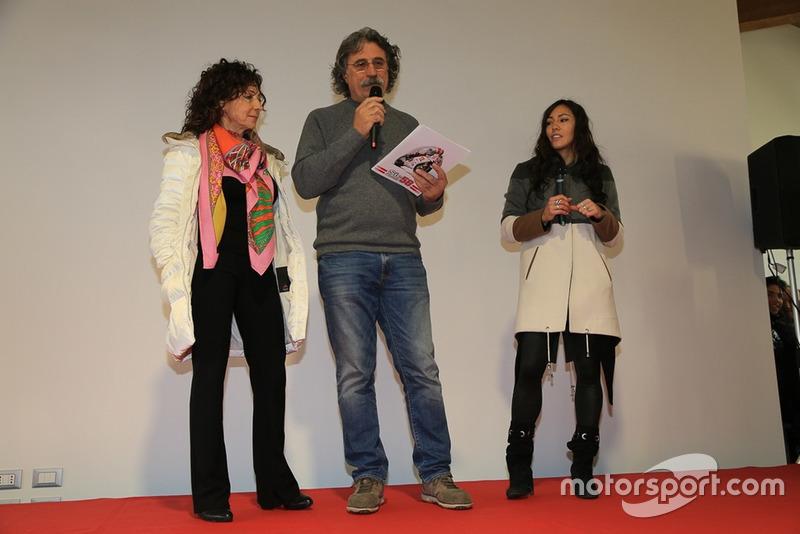 Росселла та Паоло Сімончеллі, Кейт Фретті на відкритті «Будинку Марко Сімончеллі»