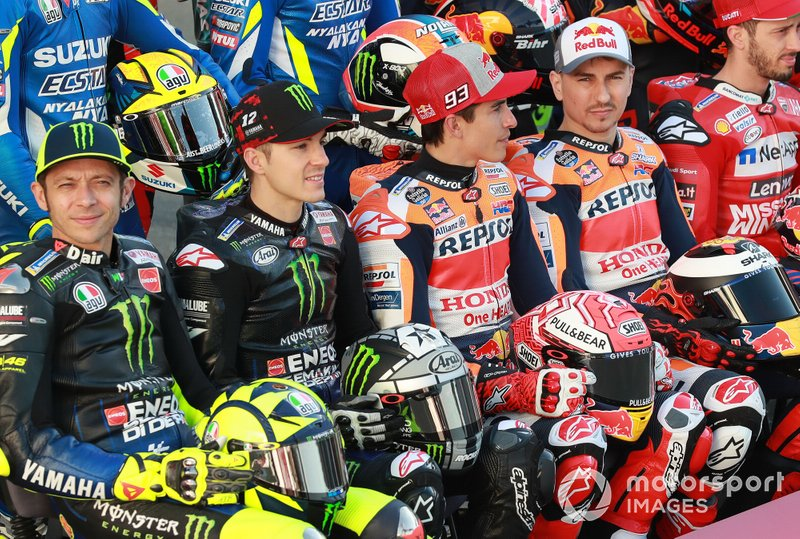 Roosi, Maverick Vinales, Yamaha Factory Racing, Marc Marquez, Repsol Honda Team, Jorge Lorenzo, Repsol Honda Team