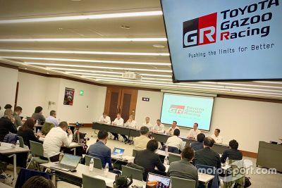 Toyota drivers headquarters visit
