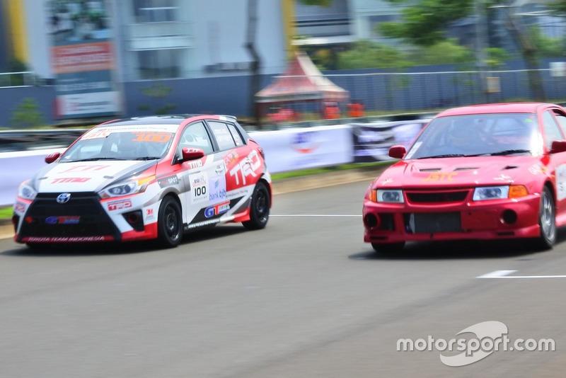 Demas Agil, Toyota Team Indonesia, Daniel M. Rumumpe, Gazpoll Racing Team