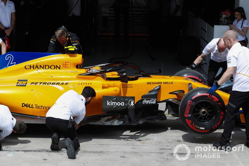 3º McLaren con Stoffel Vandoorne: 2,37 segundos