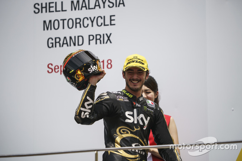 Le Champion du monde Moto2, Francesco Bagnaia, Sky Racing Team VR46