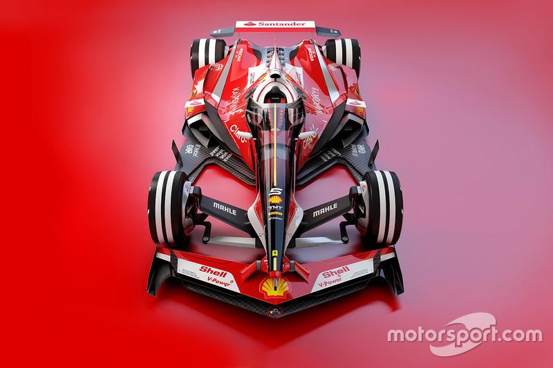 Desain fantasi Ferrari 2030