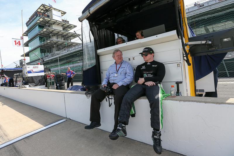 Conor Daly, Dale Coyne Racing Honda bersama Dale Coyne