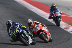 Valentino Rossi, Yamaha Factory Racing, Dani Pedrosa, Repsol Honda Team, Jorge Lorenzo, Yamaha Factory Racing