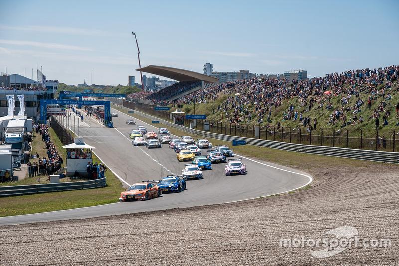 Start, Jamie Green, Audi Sport Team Rosberg, Audi RS 5 DTM
