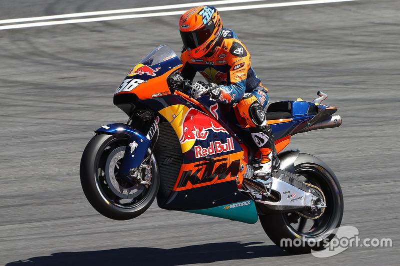 Demorunden von Mika Kallio, KTM MotoGP