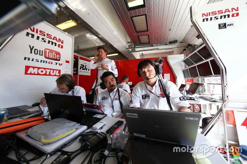Nissan GT Academy Team RJN team area