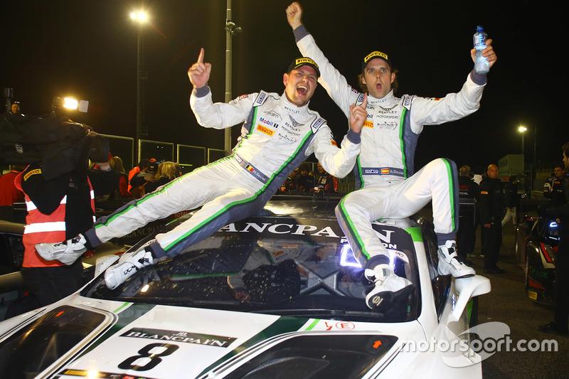 Race winners Andy Soucek, Maxime Soulet
