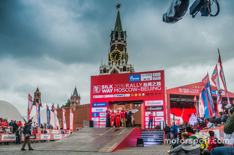 Silk Way Rally, Liu Kun