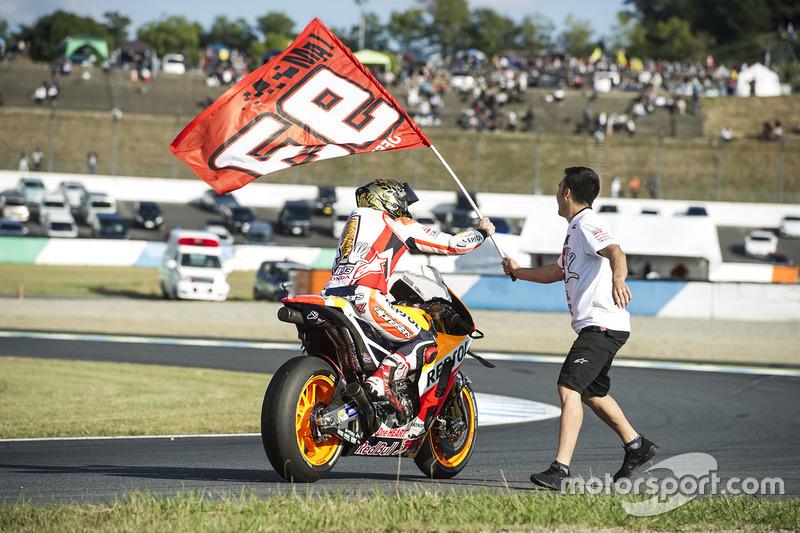 2016 winner Marc Marquez, Repsol Honda Team