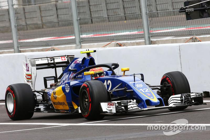 Felipe Nasr, Sauber C35, Halo kokpit ile