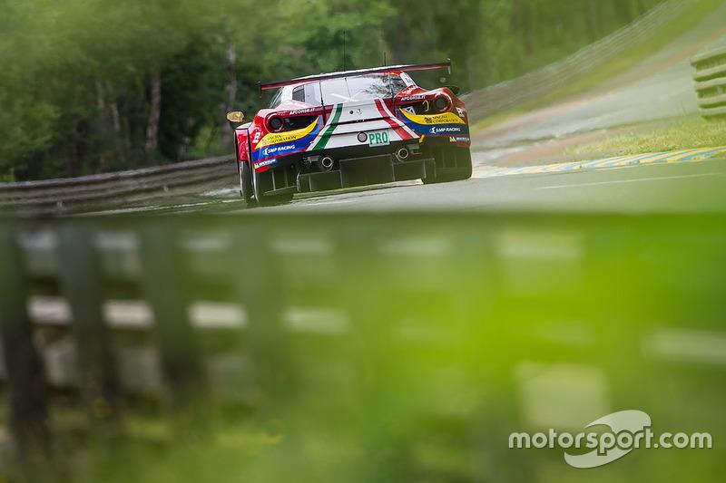 #71 AF Corse, Ferrari 488 GTE: Davide Rigon, Sam Bird, Miguel Molina