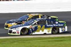 Chase Elliott, Hendrick Motorsports Chevrolet and Ryan Newman, Richard Childress Racing Chevrolet
