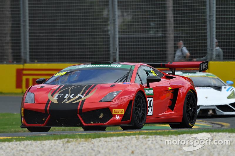 #99 Lamborghini Gallardo GT3: Mathew Turnbull