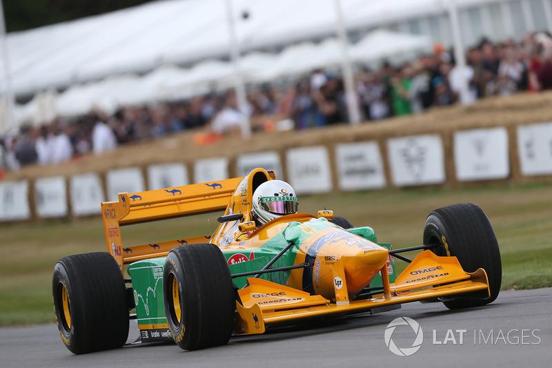 Benetton Ford B193 - Stephen Ottavianelli