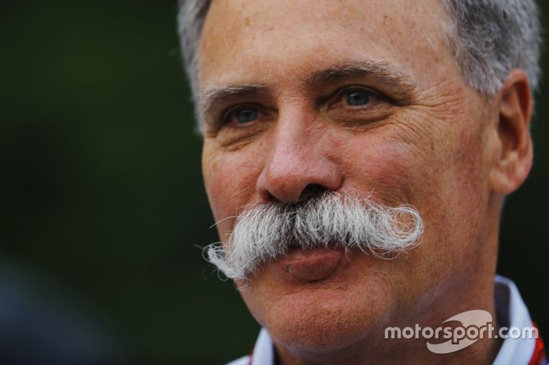Chase Corey, Chairman, Formula One