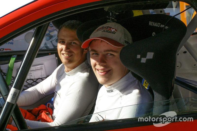 Thomas Schmid, Cornel Frigoli, Renault Twingo R1, cockpit