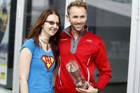 René Rast, Audi Sport Team Rosberg, Audi RS 5 DTM with a fan