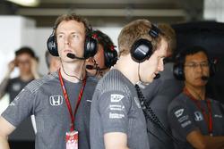 Mark Temple, Race Engineer, McLaren