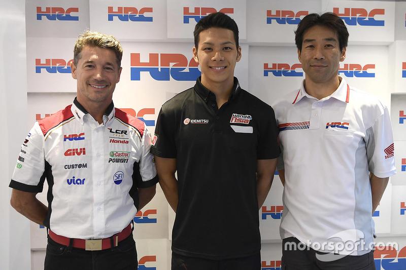 Takaaki Nakagami (Team LCR Honda)